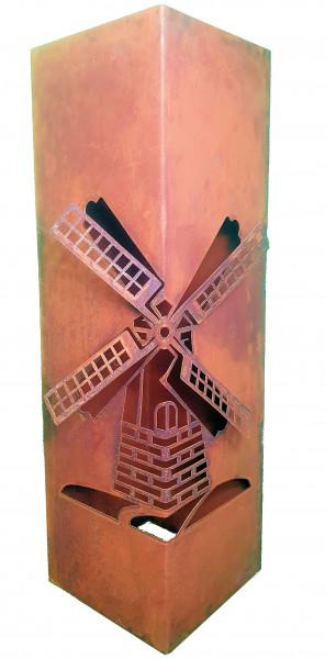 Säule Windmühle 3D