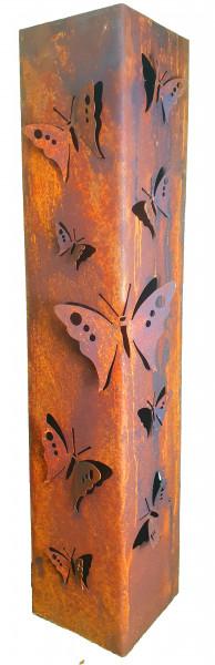 Säule Schmetterling 3D