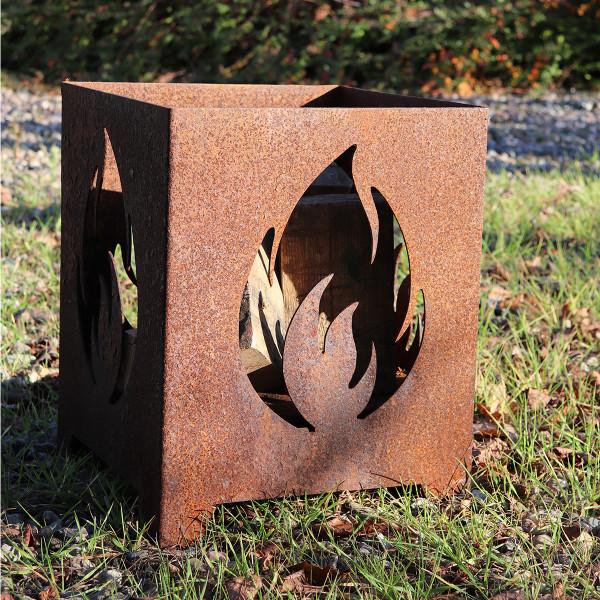 Feuerkorb Flamme